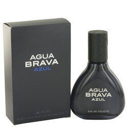 Agua Brava Azul by Antonio Puig Eau De Toilette Spray 3.4 oz (Men)