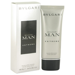 Bvlgari Man Extreme by Bvlgari After Shave Balm 3.4 oz (Men)