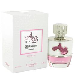 AB Spirit Millionaire Premium by Lomani Eau De Parfum Spray 3.3 oz (Women)
