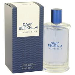 David Beckham Classic Blue by David Beckham Eau De Toilette Spray 3 oz (Men)
