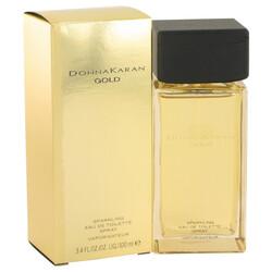 Donna Karan Gold Sparkling by Donna Karan Eau De Toilette Spray 3.4 oz (Women)
