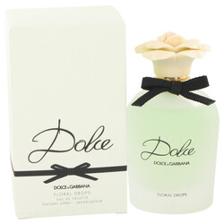 Dolce Floral Drops by Dolce & Gabbana Eau De Toilette Spray 2.5 oz (Women)