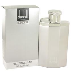 Desire Silver London by Alfred Dunhill Eau De Toilette Spray 3.4 oz (Men)