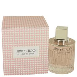 Jimmy Choo Illicit Flower by Jimmy Choo Eau De Toilette Spray 3.3 oz (Women)