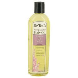 Dr Teal's Bath Oil Sooth & Sleep with Lavender by Dr Teal's Pure Epsom Salt Body Oil Sooth & Sleep with Lavender 8.8 oz (Women)