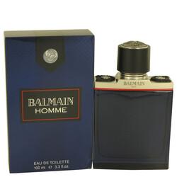 Balmain Homme by Balmain Eau De Toilette Spray 3.4 oz (Men)