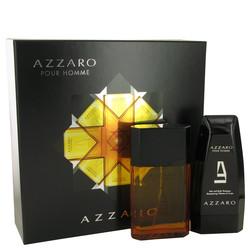 AZZARO by Azzaro Gift Set -- 3.4 oz Eau De Toilette Spray + 5 oz Hair & Body Shampoo (Men)