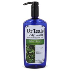 Dr Teal's Body Wash With Pure Epsom Salt by Dr Teal's Body Wash with pure epsom salt with eucalyptus & Spearmint 24 oz (Women)