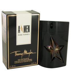 Angel Pure Tonka by Thierry Mugler Eau De Toilette Spray 3.4 oz (Men)