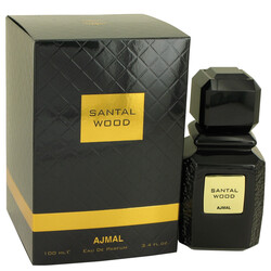 Santal Wood by Ajmal Eau De Parfum Spray (Unisex) 3.4 oz (Women)