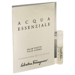 Acqua Essenziale Colonia by Salvatore Ferragamo Vial (sample) .05 oz (Men)
