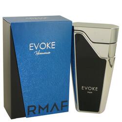 Armaf Evoke Blue by Armaf Eau De Parfum Spray 2.7 oz (Men)