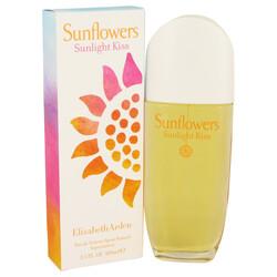 Sunflowers Sunlight Kiss by Elizabeth Arden Eau De Toilette Spray 3.4 oz (Women)