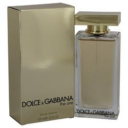 The One by Dolce & Gabbana Eau De Toilette Spray (New Packaging) 3.3 oz (Women)