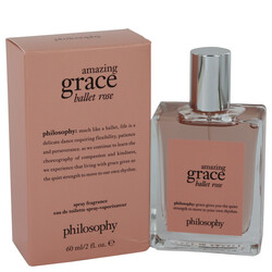 Amazing Grace Ballet Rose by Philosophy Eau De Toilette Spray 2 oz (Women)