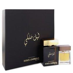 The One Royal Night by Dolce & Gabbana Gift Set -- 3.3 oz Eau De Parfcum Spray + 1 oz Eau De Toilette Spray (Men)