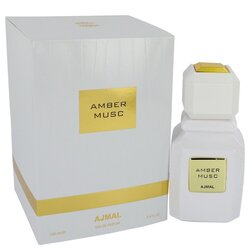 Ajmal Amber Musc by Ajmal Eau De Parfum Spray (Unisex) 3.4 oz (Women)