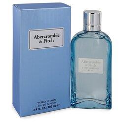 First Instinct Blue by Abercrombie & Fitch Eau De Parfum Spray 3.4 oz (Women)