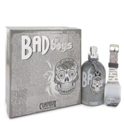 Bad for Boys by Clayeux Parfums Eau De Toilette Spray + Free LED Watch 3.4 oz (Men)