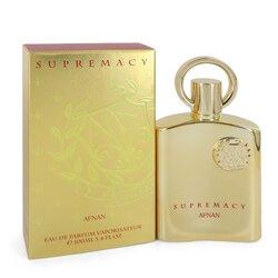 Supremacy Gold by Afnan Eau De Parfum Spray (Unisex) 3.4 oz (Men)