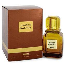 Ajmal Amber Santal by Ajmal Eau De Parfum Spray (Unisex) 3.4 oz (Women)