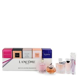 MIRACLE by Lancome Gift Set -- Best of Lancome Gift Set Includes Miracle Tresor La Vie Est Belle Tresor in Love and Hypnose all are .16 oz Eau De Parfum. Tresor is .25 oz Eau De Parfum. (Women)