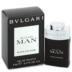 Bvlgari Man Black Cologne by Bvlgari Mini EDT .17 oz (Men)