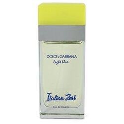 Light Blue Italian Zest by Dolce & Gabbana Eau De Toilette Spray (Tester) 3.4 oz (Women)