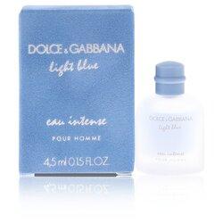 Light Blue Eau Intense by Dolce & Gabbana Mini EDP .15 oz (Men)