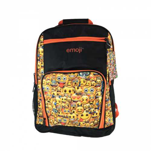 Emoji Bulletproof Backpack, ORANGE