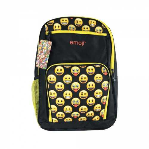 Emoji Bulletproof Backpack, YELLOW