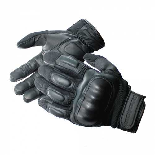 Police Force Hard Knuckle Tactical Gloves XL