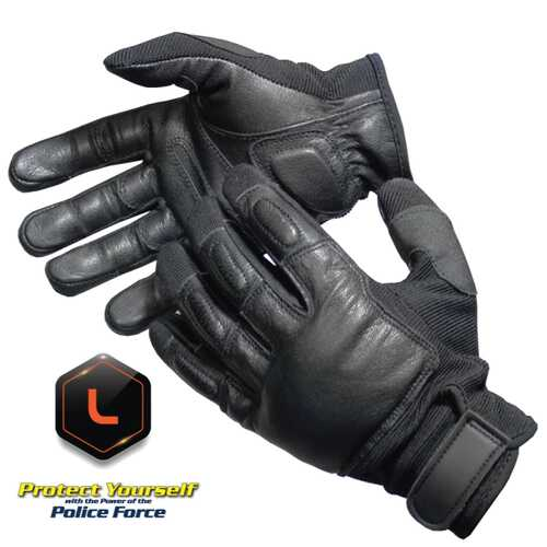 Police Force Tactical SAP Gloves - Large