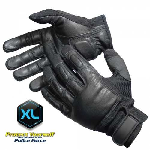 Police Force Tactical SAP Gloves - XLarge