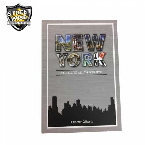 Streetwise New York Book Safe with Key