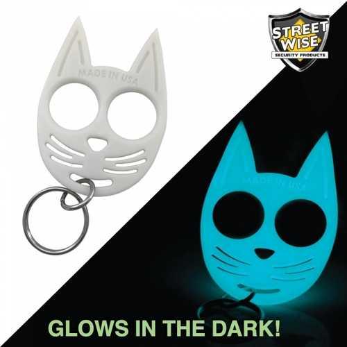 Streetwise My Kitty Self-Defense Keychain Glow in the Dark