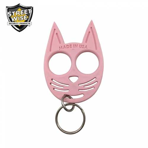 Streetwise My Kitty Self-Defense Keychain Pink