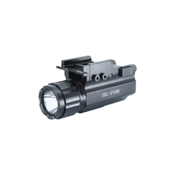 HiLight Tactical Compact Pistol Rail Mounted 500 LM Flashlight