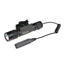 HiLight 800 LM Rifle Mounted Tactical Flashlight w/ Smart Pressure Switch