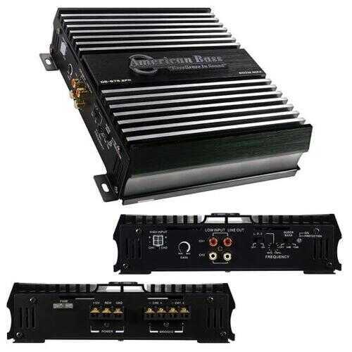 American Bass 500 Watts Class A&B 2 Channel Car Amplifier DB6752FR
