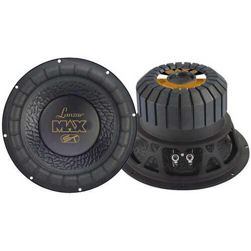 Max 8'' 600 Watt Small Enclosure 4 Ohm Subwoofer