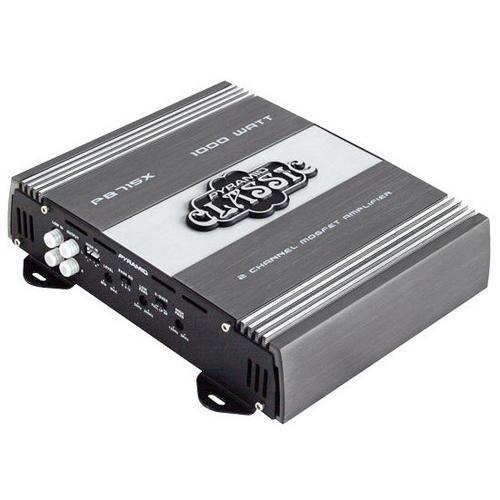 1000 Watts 2 Channel Bridgeable Car Amplifier