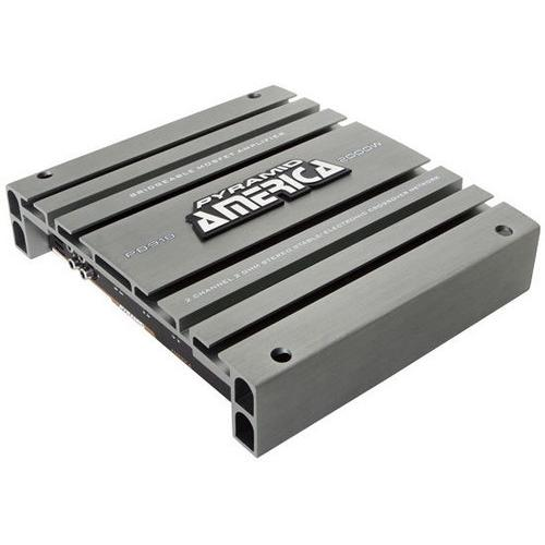 2000 Watt 2 Channel Bridgeable Mosfet Amplifier