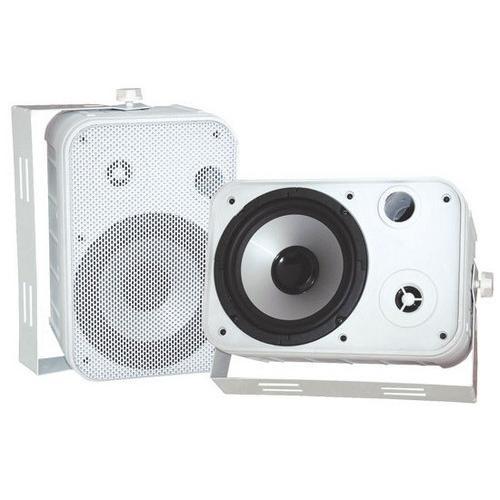 """6.5"""" Indoor/Outdoor Waterproof Speakers (White)"""