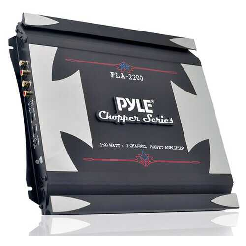 2 Channel 1400 Watt Bridgeable Mosfet Amplifier