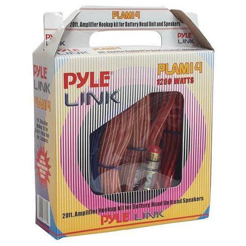 20ft 8 Gauge 1000 Watts Amplifier Hookup For Battery Head Unit & Speakers Installation Kit