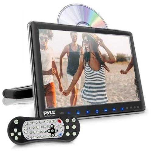 Vehicle Headrest Mount CD/DVD Player - Car Video Entertainment Display Monitor (9.4 -inch)