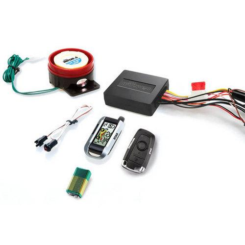 Watch Dog Motorcycle Vehicle Alarm Security System, Remote Auto-Start, Automatic Re-Arm, Includes (2) ECU Control Transmitters, Anti-Hijack Engine Immobilization, High-Power Piezo Speaker, Mountable LED Indicator