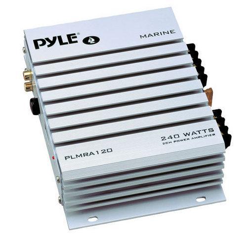 2 Channel 240 Watt Waterproof Marine Amplifier