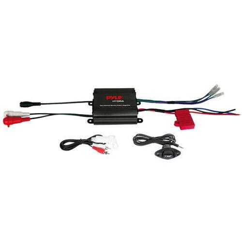 2 Channel 400 Watt Waterproof Micro Marine Amplifier